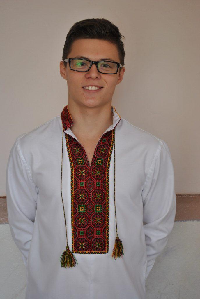 Миськевич Тарас - президент учнівського самоврядування