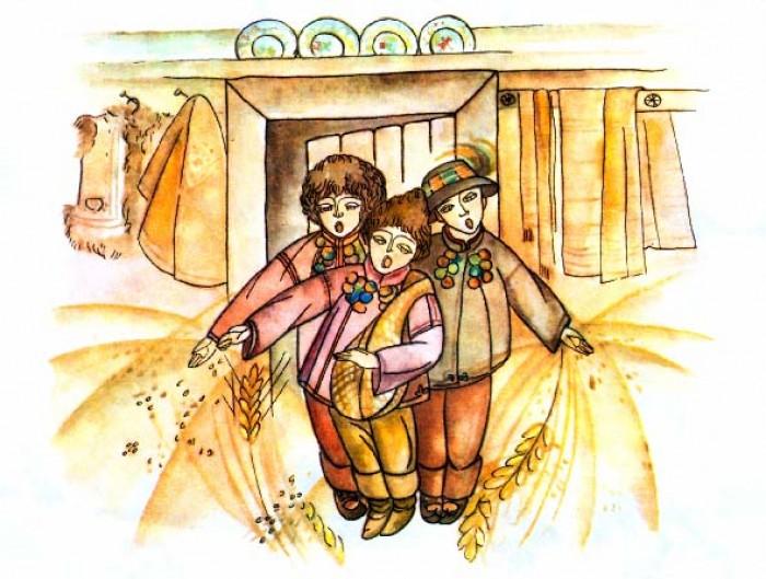 Засівалки, посівалки на старий Новий рік