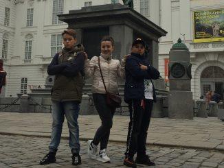 Група учнів 7-В класу разом із класним керівником Гевко Н.В. здійснили незабутню подорож Європою